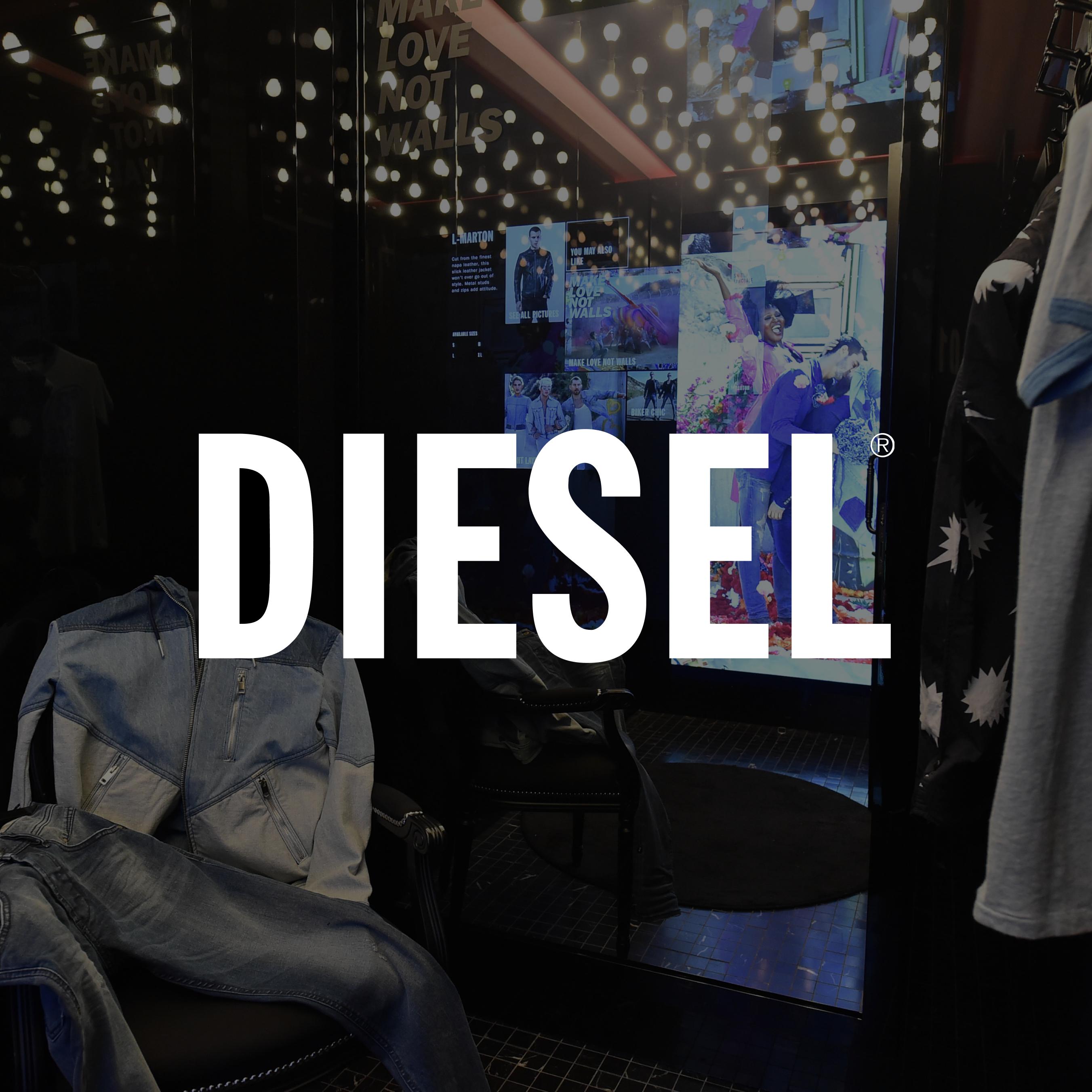 Diesel Interactive Store